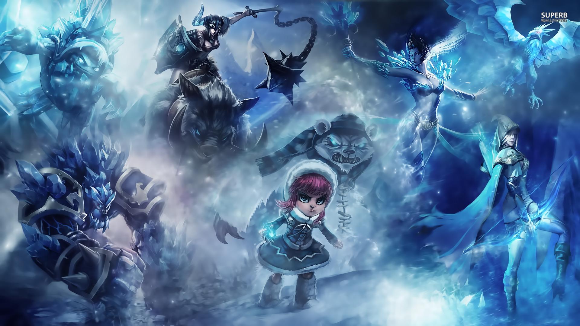 Hd Wallpapers League Of Legends Sf Wallpaper