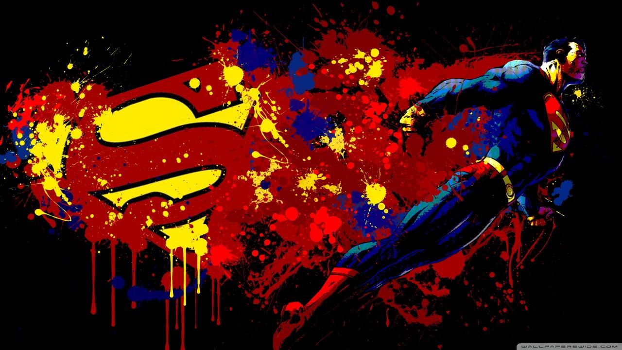 Superman Cartoon HD desktop wallpaper : High Definition : Mobile