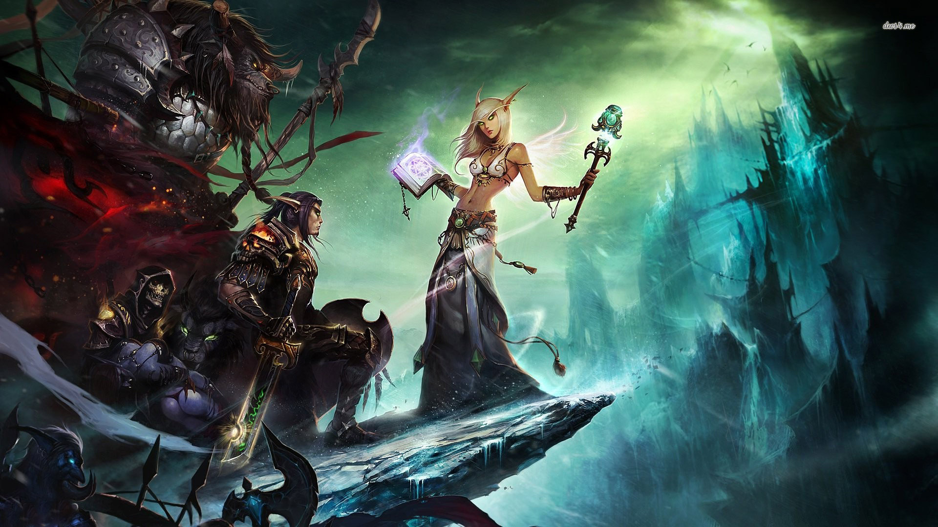 Hd Wallpapers World Of Warcraft Sf Wallpaper