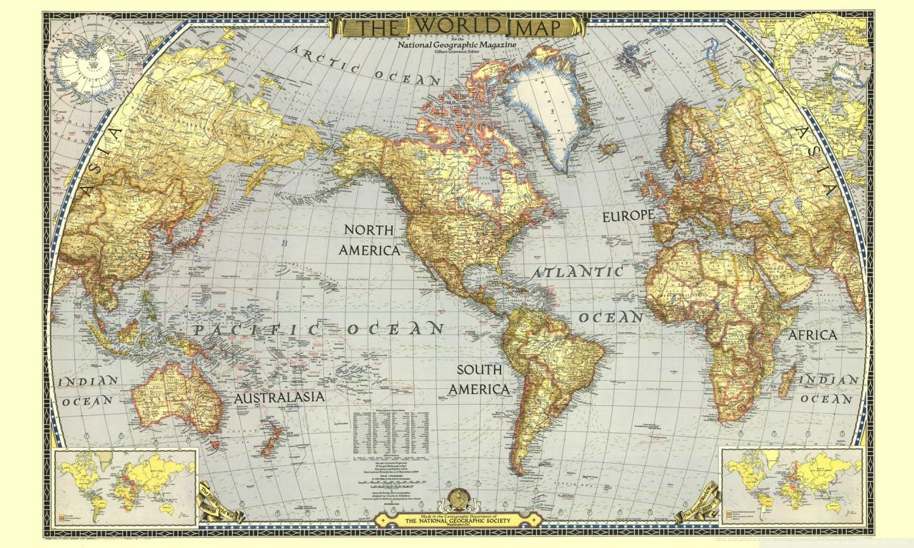 Hd world map wallpaper - SF Wallpaper
