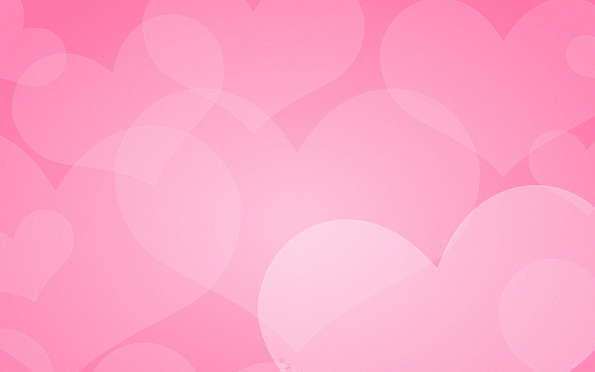 Pink Heart Wallpapers - WallpaperSafari