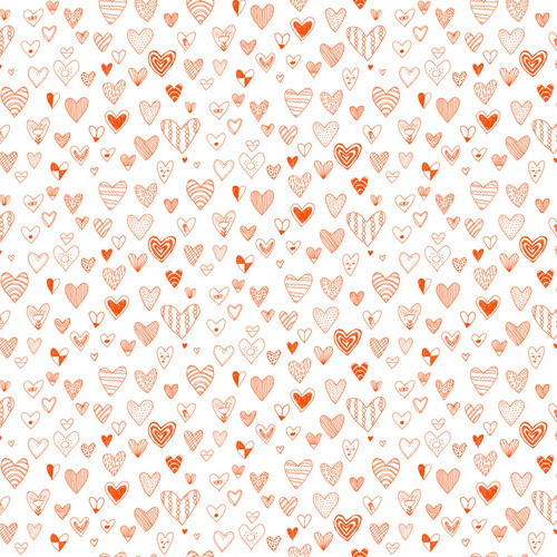 Hearts Wallpaper — ELIZABETH GRAEBER