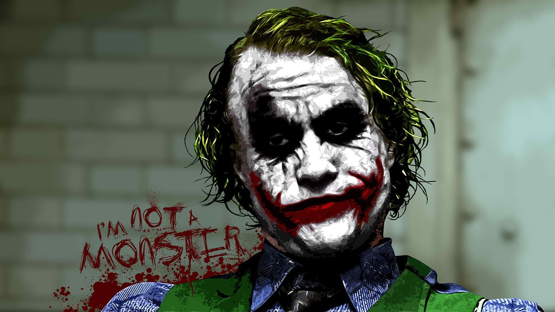 Heath Ledger Joker Wallpapers HD Group (73+)