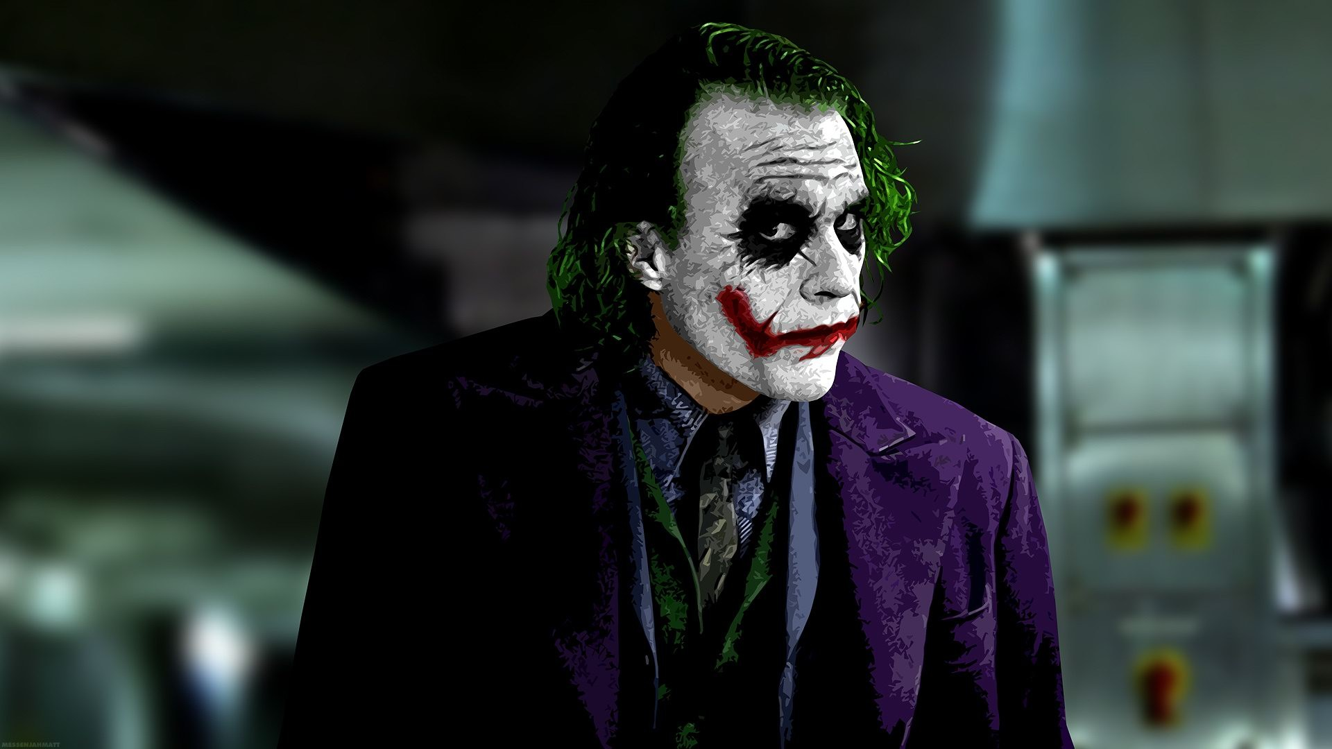 Joker Heath Ledger Hd Wallpaper - Shoutot net