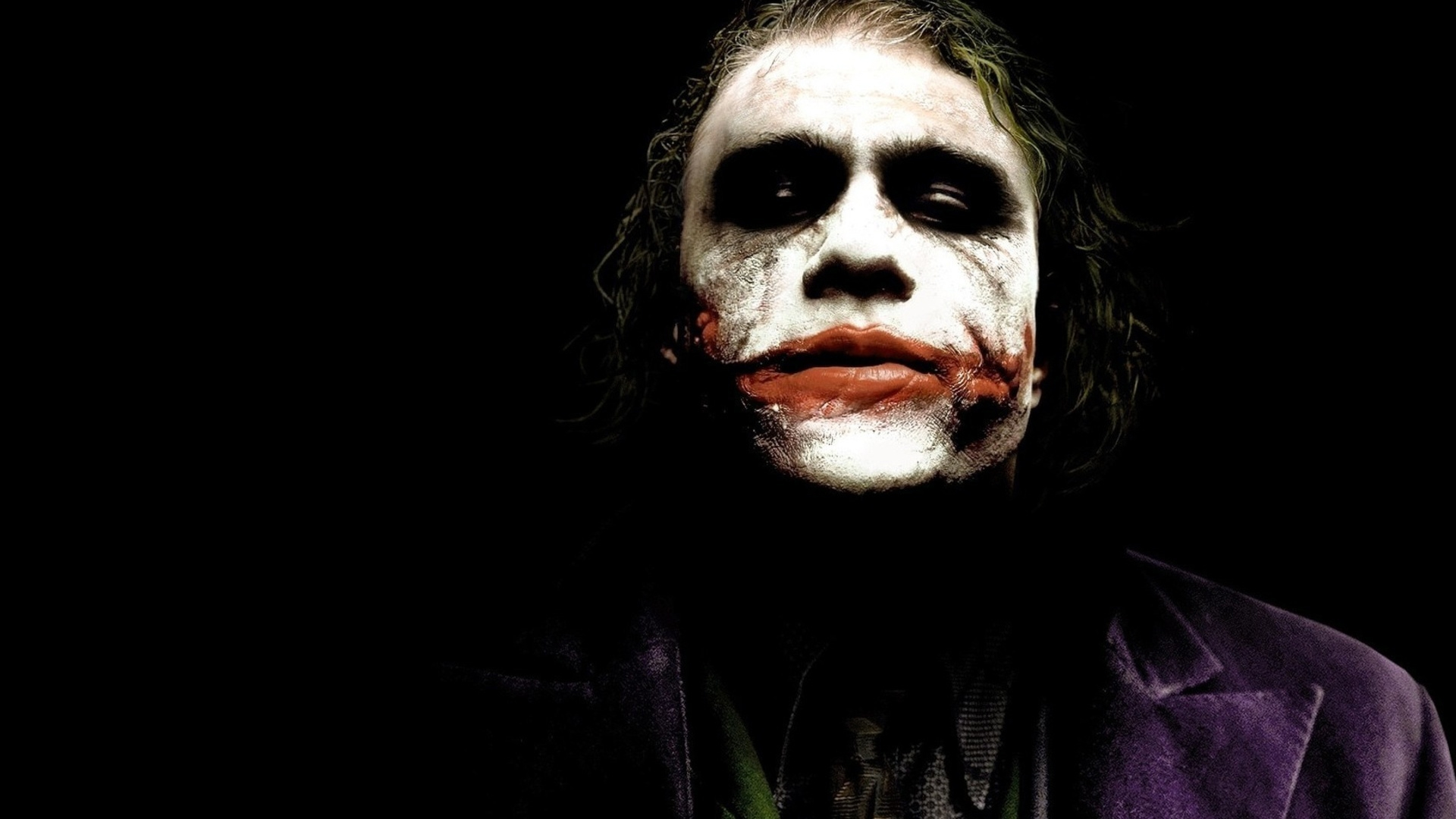 Heath Ledger Joker Wallpaper HD - WallpaperSafari