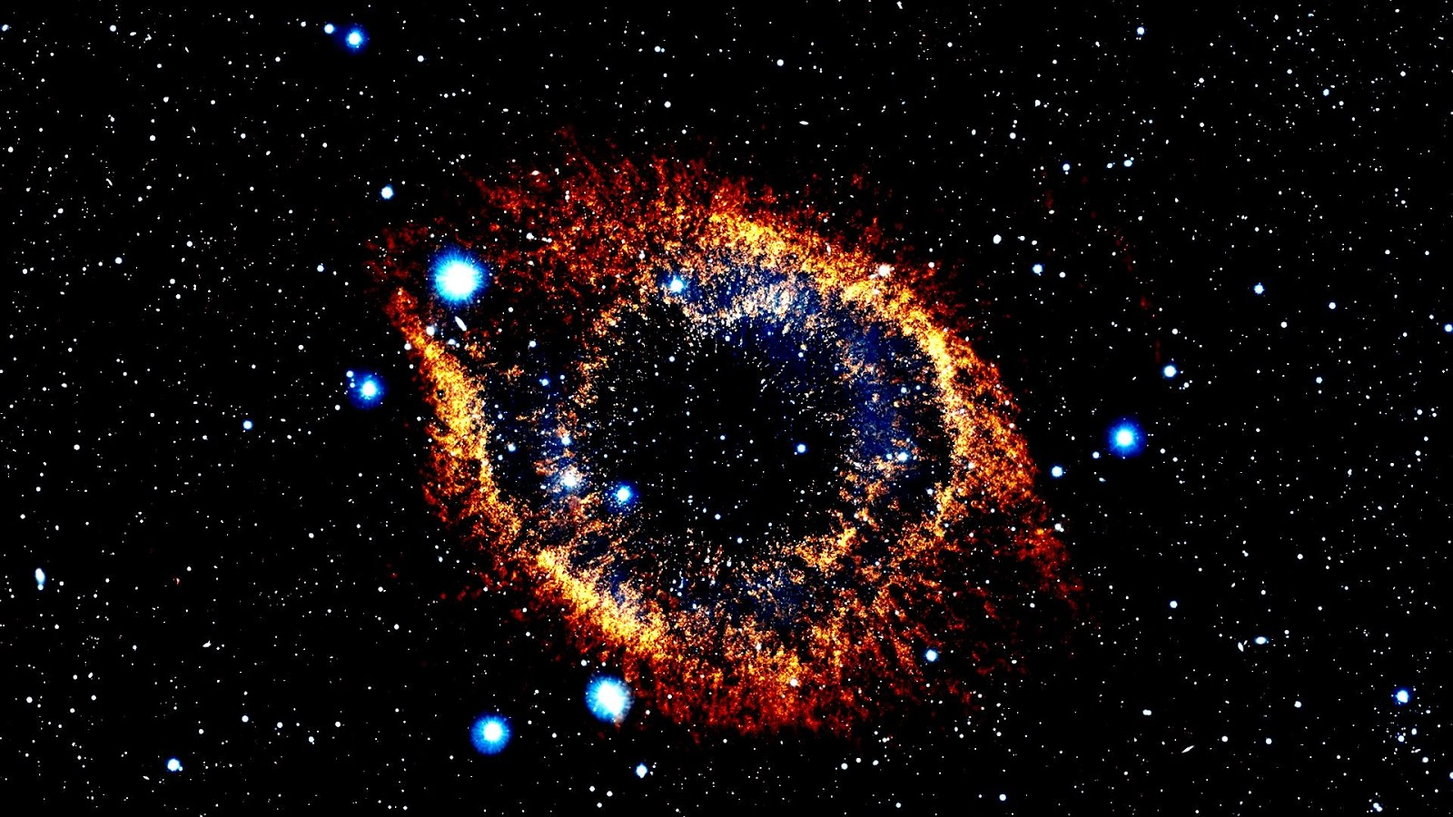 Helix nebula wallpaper - SF Wallpaper