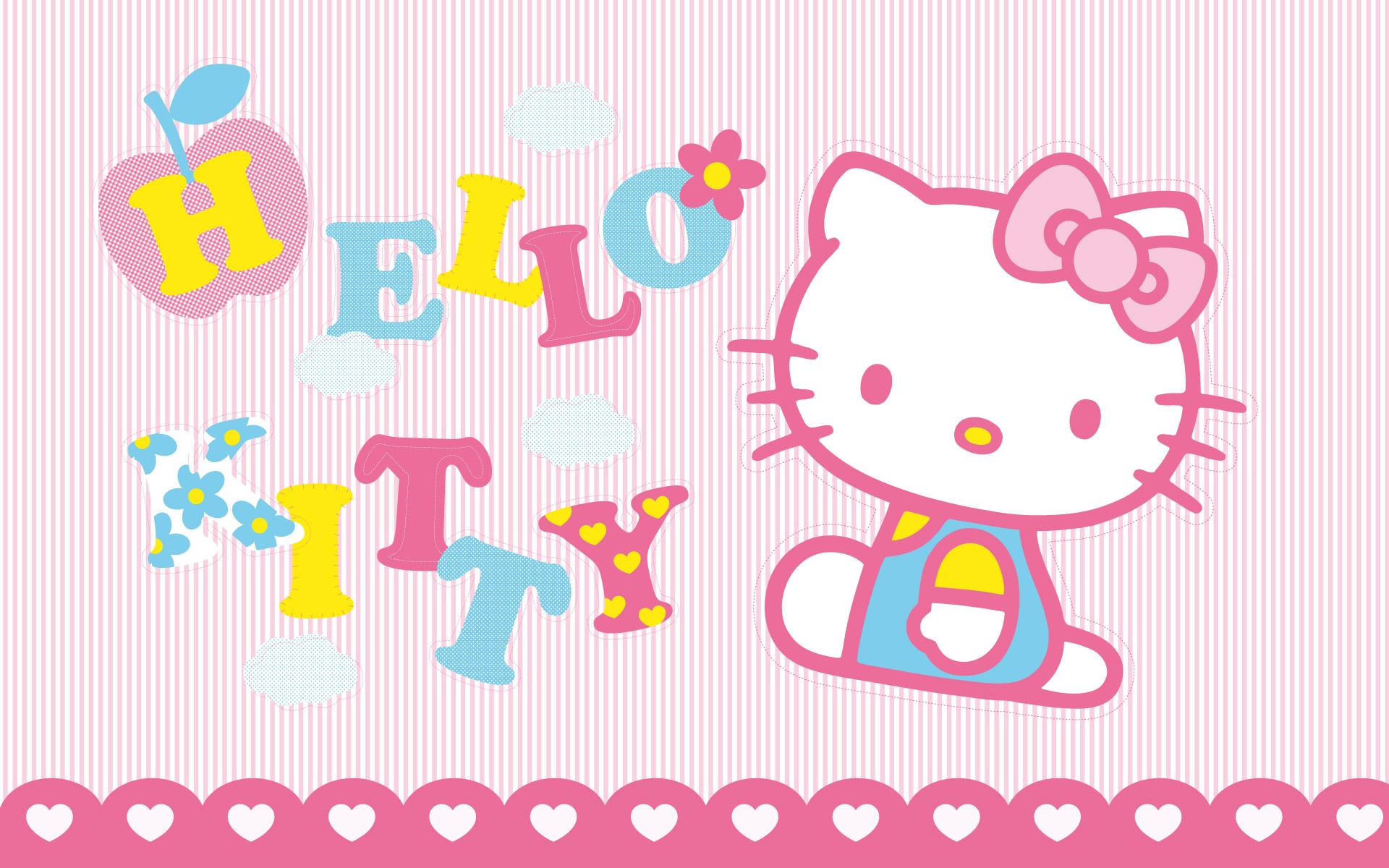Hello kitty background wallpaper