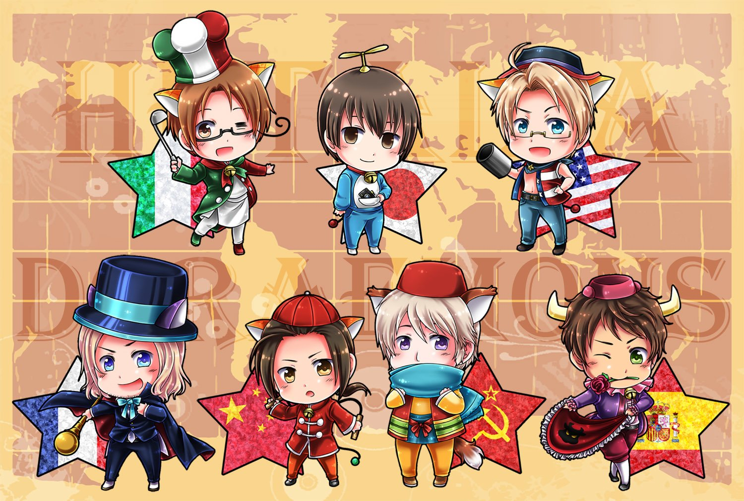 Hetalia backgrounds - SF Wallpaper