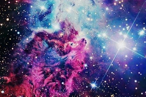 Download Galaxy wallpapers to your cell phone - galaxy hipster
