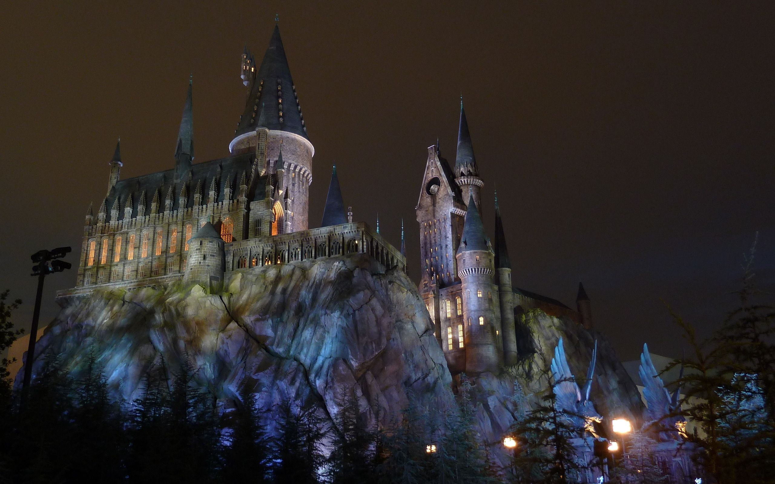 Download Wallpaper Harry Potter Dual Screen - hogwarts-castle-wallpaper-8  Collection_346528.jpg
