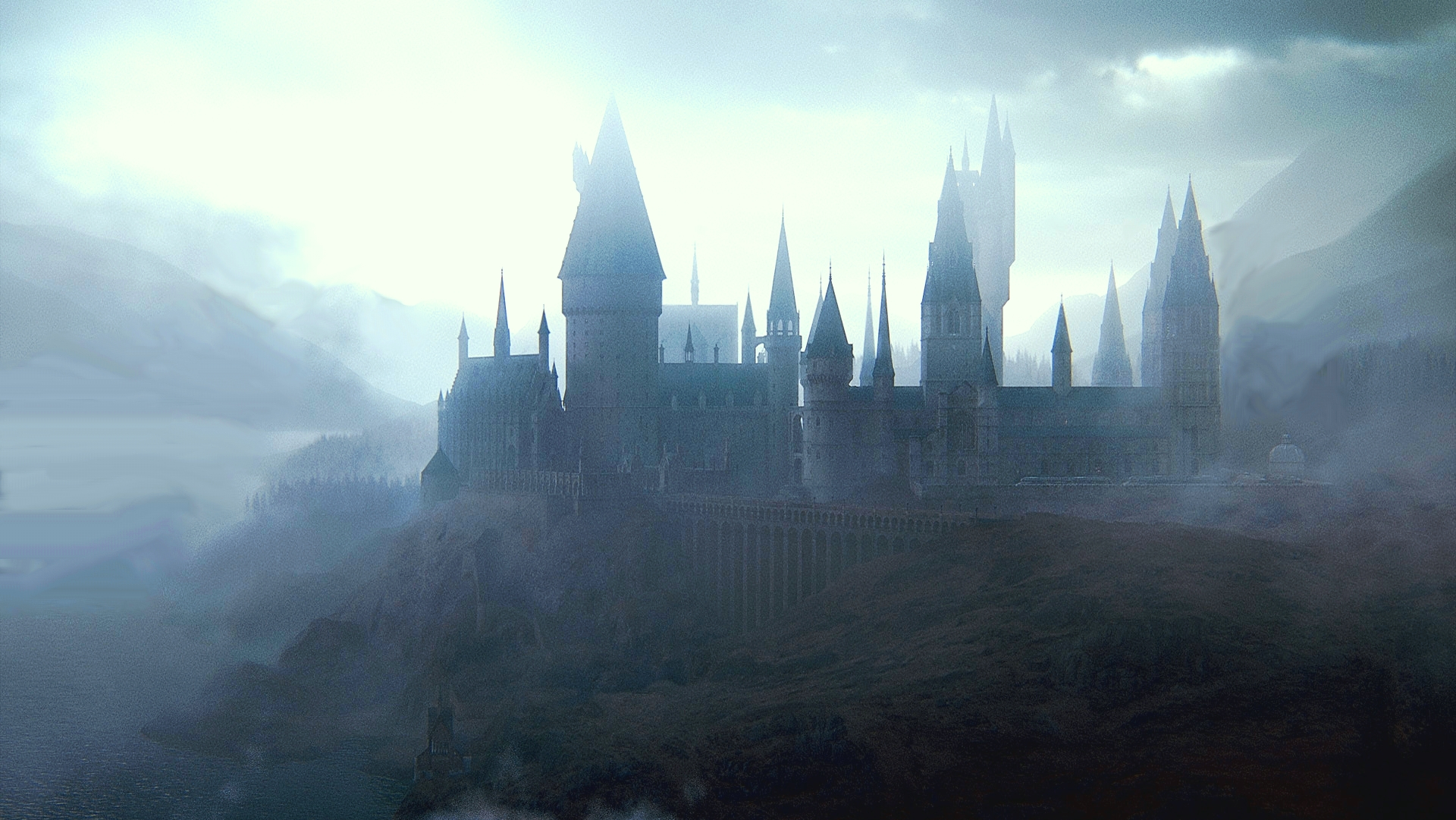 Hogwarts Desktop Wallpaper Sf Wallpaper