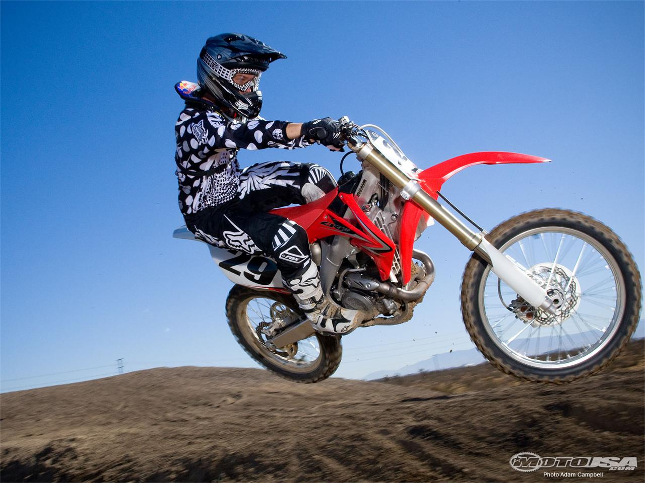 Honda Dirt Bike Wallpaper Viva Wallpapers