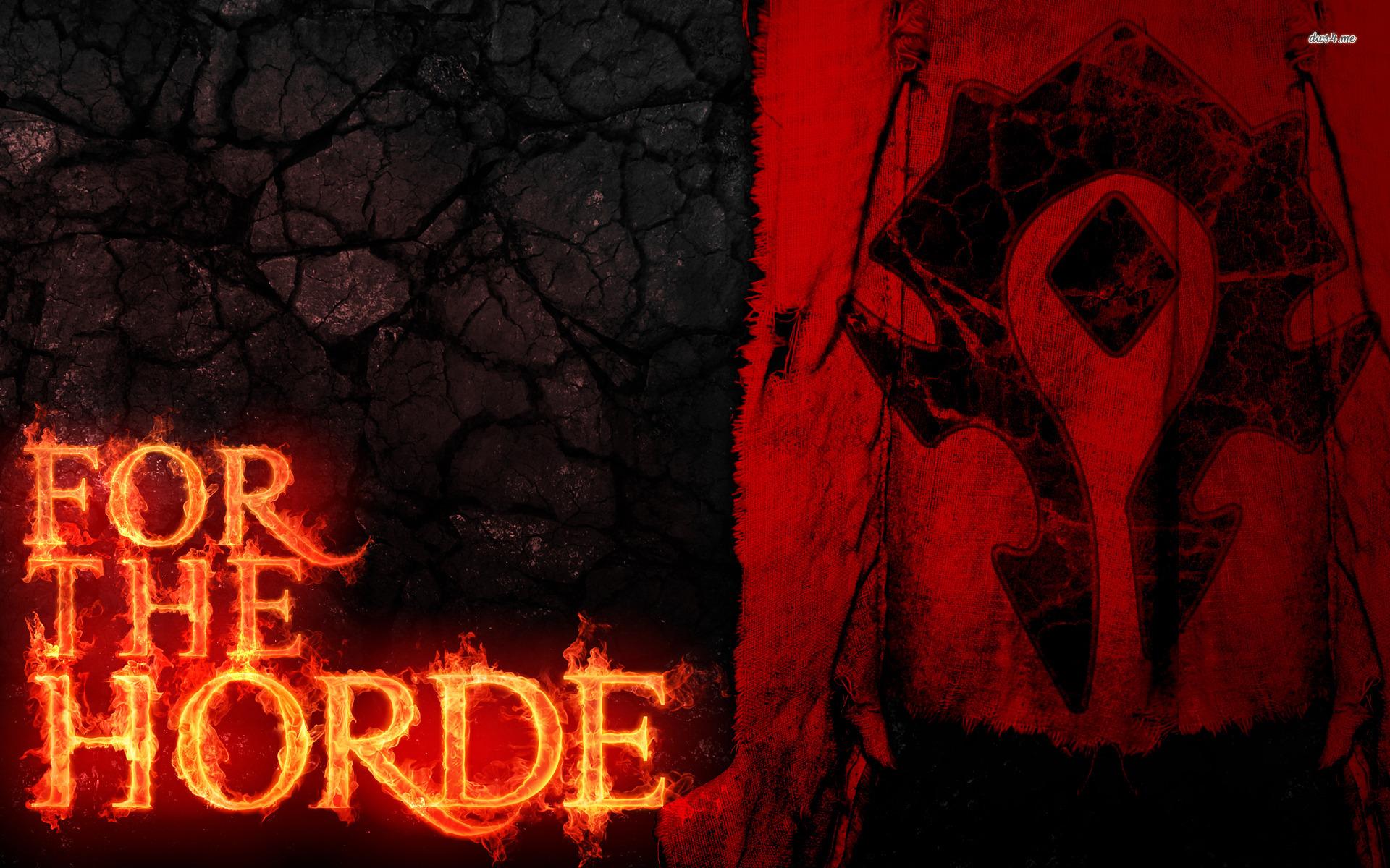 Horde Symbol Wallpaper