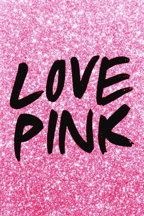 I Love Pink Wallpaper Wallpapersafari