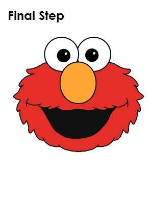How to Draw Elmo