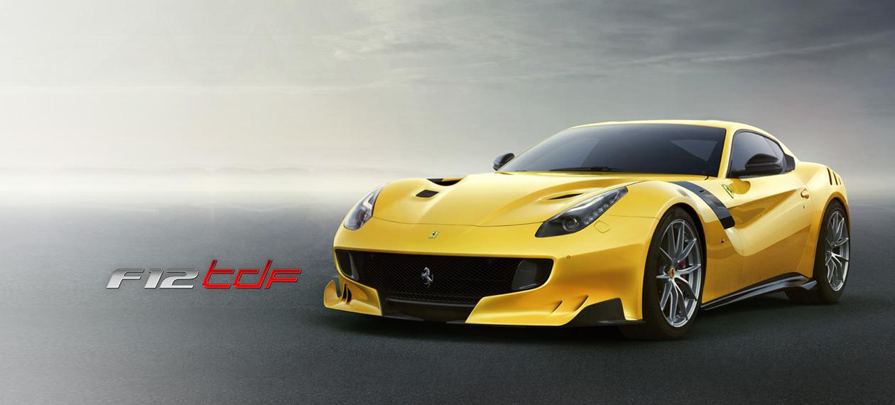 Ferrari F12tdf: Track-Level Performance on the Road - Ferrari com