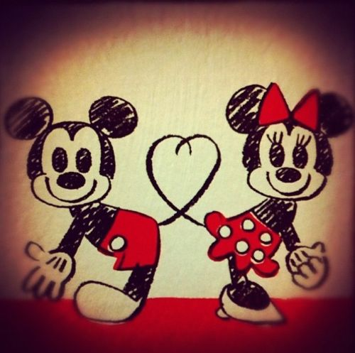 10 Best images about Mickey mouse en Minnie mouse tekenen ❤   on