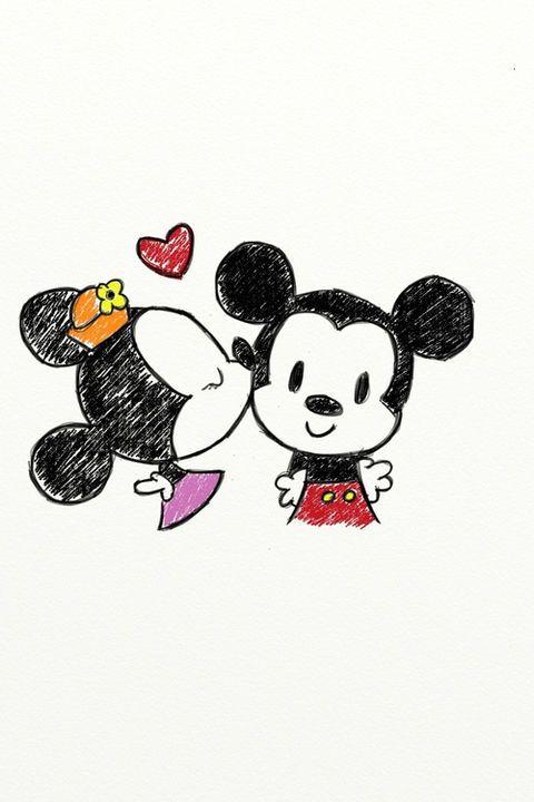 Untitled — mickey and minnie | Tumblr on We Heart It -    | Stuff