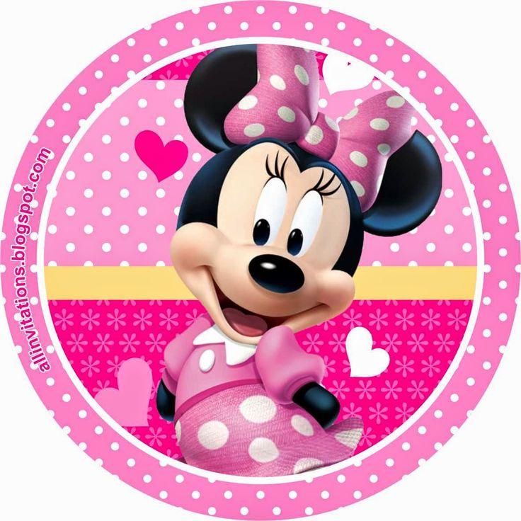 1000+ ideas about Invitaciones De Minnie on Pinterest