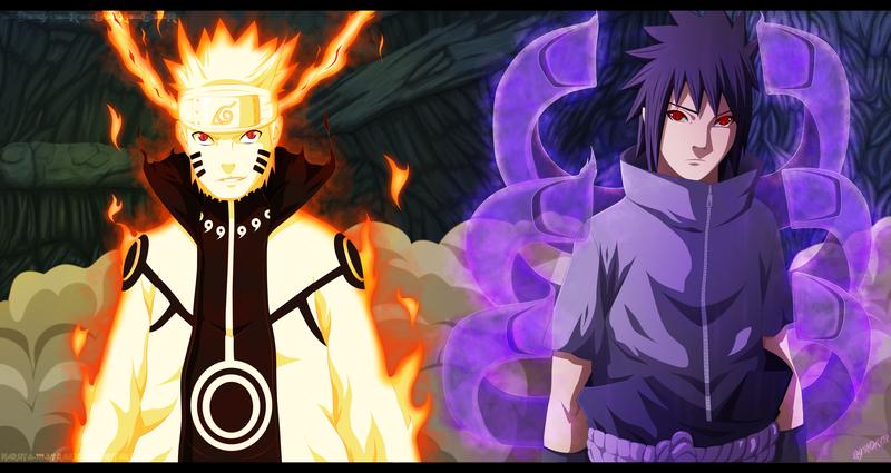 Naruto and Sasuke vs Sora and Riku!!!!!!!!!!!!!! - Battles - Comic
