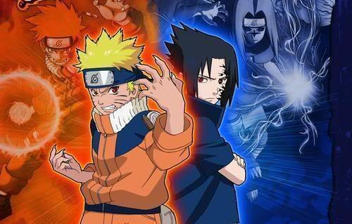 Soul-Dragneel images Naruto and Sasuke wallpaper and background