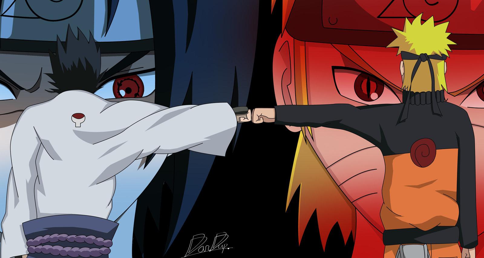imagenes de naruto y sasuke