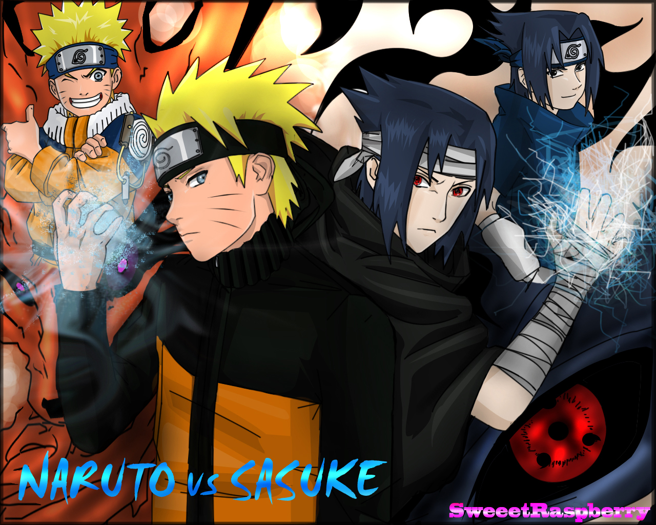 Sasuke and Naruto vs Dante and Vergil - Battles - Comic Vine