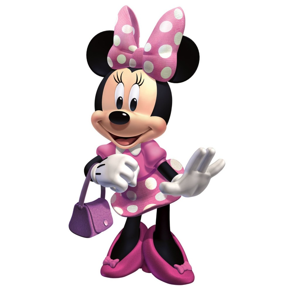 Pdf Minnie Mouse Clipart - Clipart Kid
