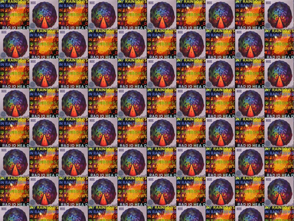 Radiohead In Rainbows Muse Resistance Wallpaper « Tiled Desktop