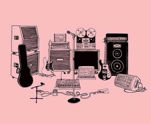 Indie Rock Wallpaper Page 1