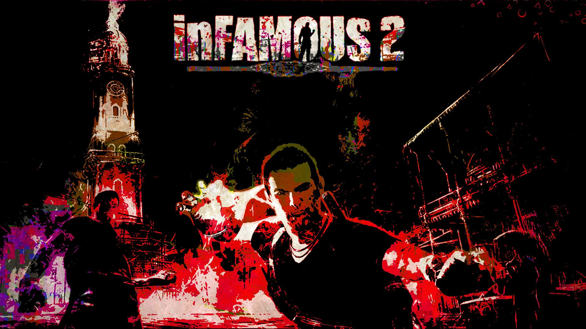 Infamous 2 Wallpaper