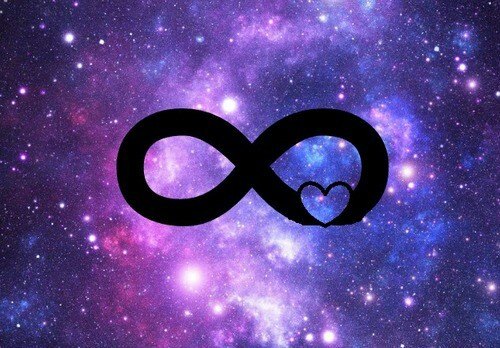 Galaxy Infinity Sign Wallpapers - WallpaperSafari