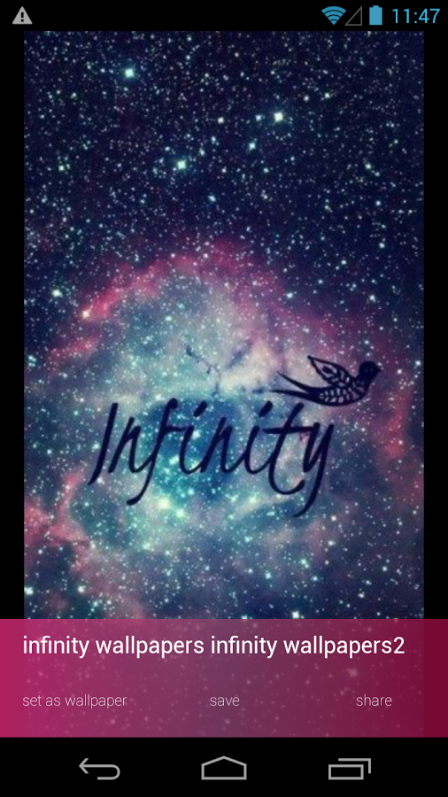 Infinity Wallpapers - Android Apps on Google Play