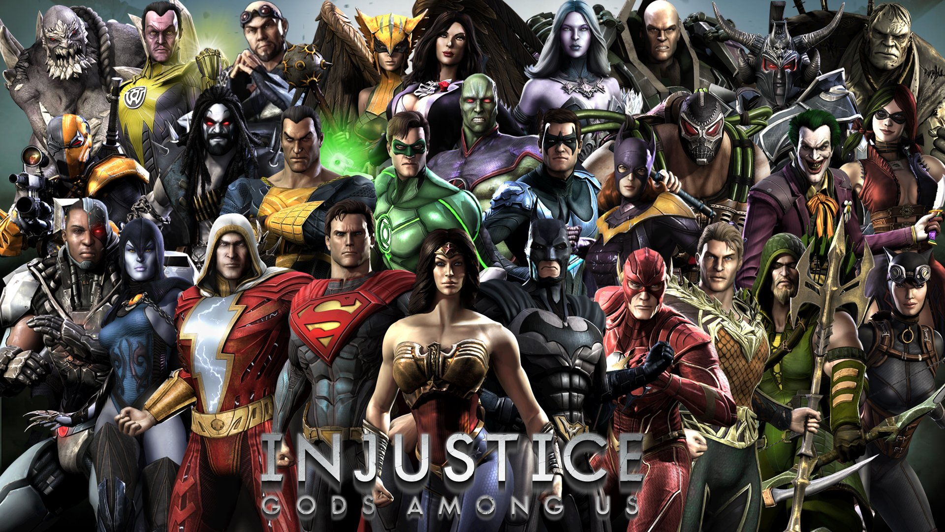 102 Injustice: Gods Among Us HD Wallpapers | Backgrounds