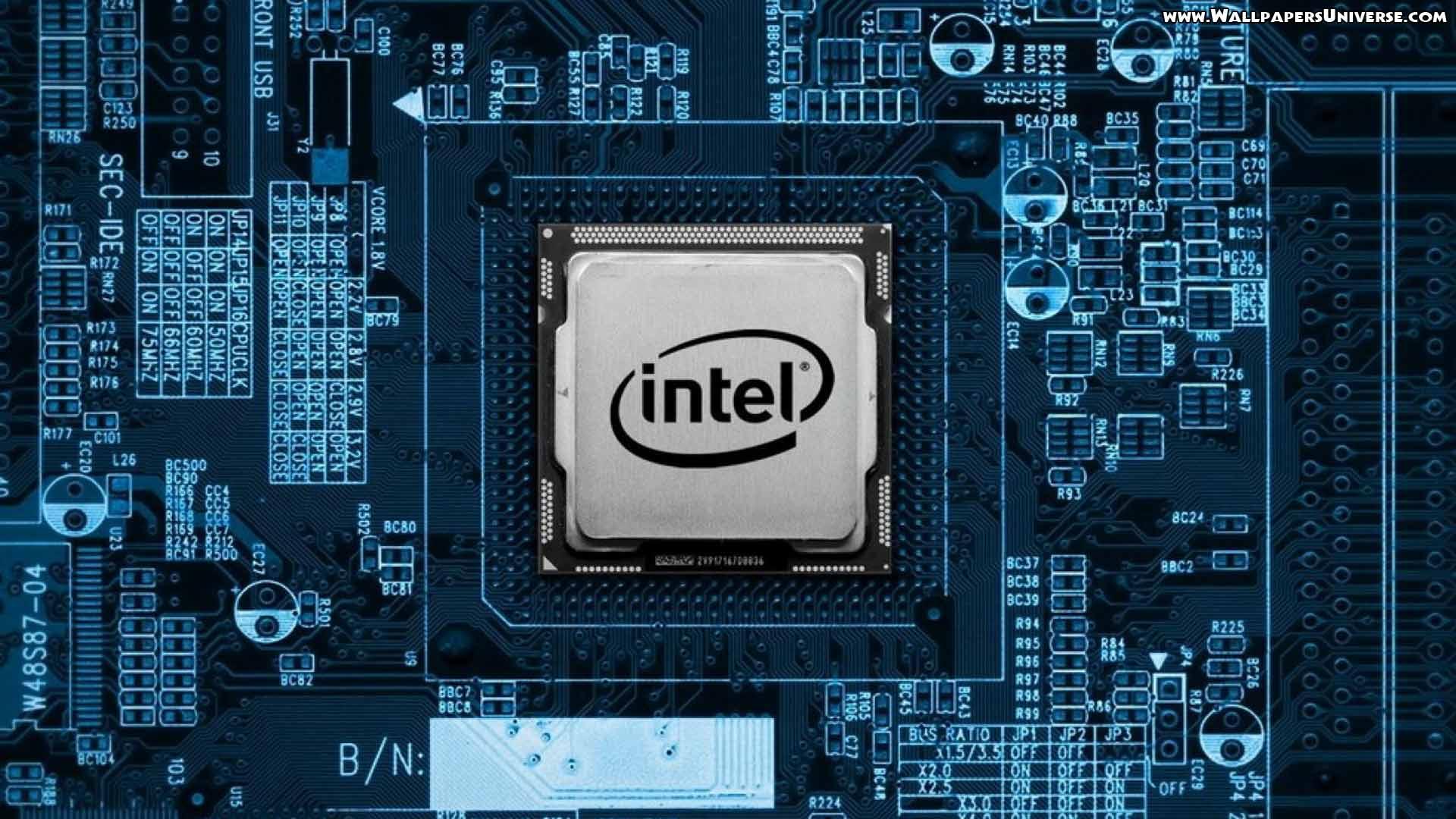 45 units of Intel Wallpaper