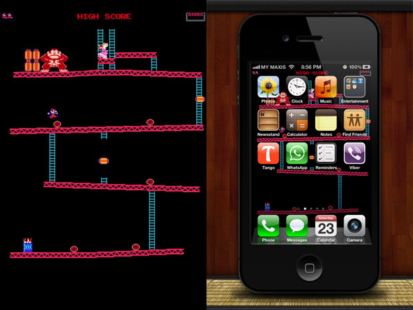 40 Creative iPhone Wallpapers To Make Your Apps Look Good - Hongkiat