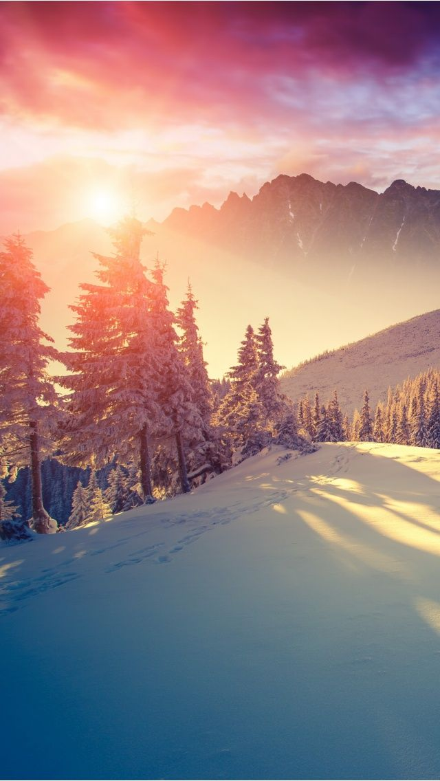 Iphone Wallpaper Winter Sf Wallpaper
