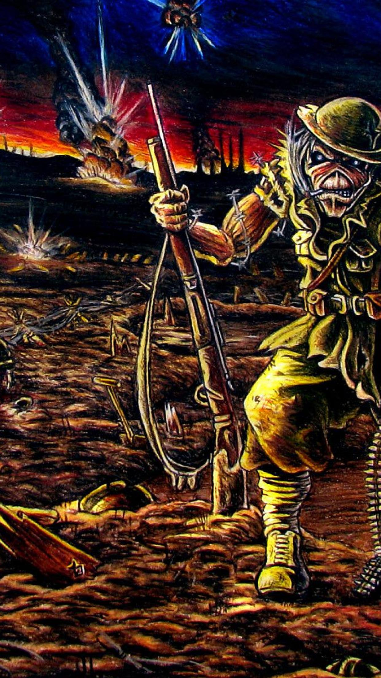 iron maiden iphone wallpaper - sf wallpaper