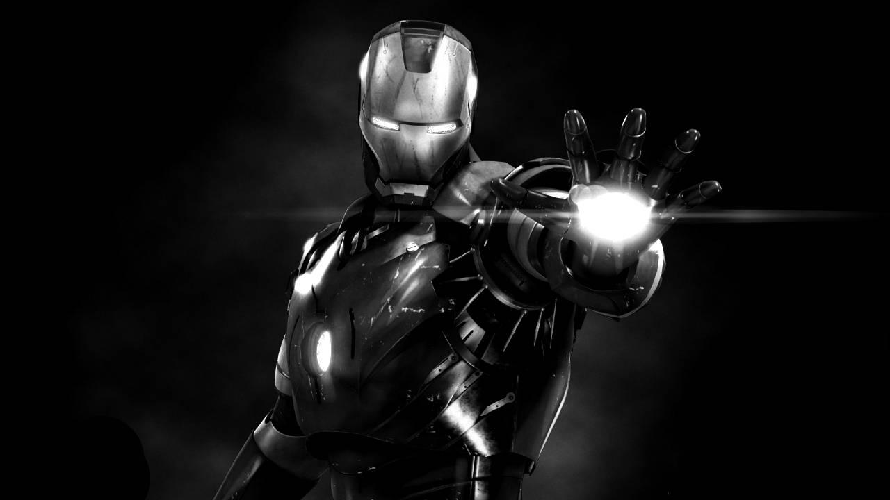 Good Wallpaper Home Screen Iron Man - iron-man-black-and-white-wallpaper-17  Picture_628354.jpg