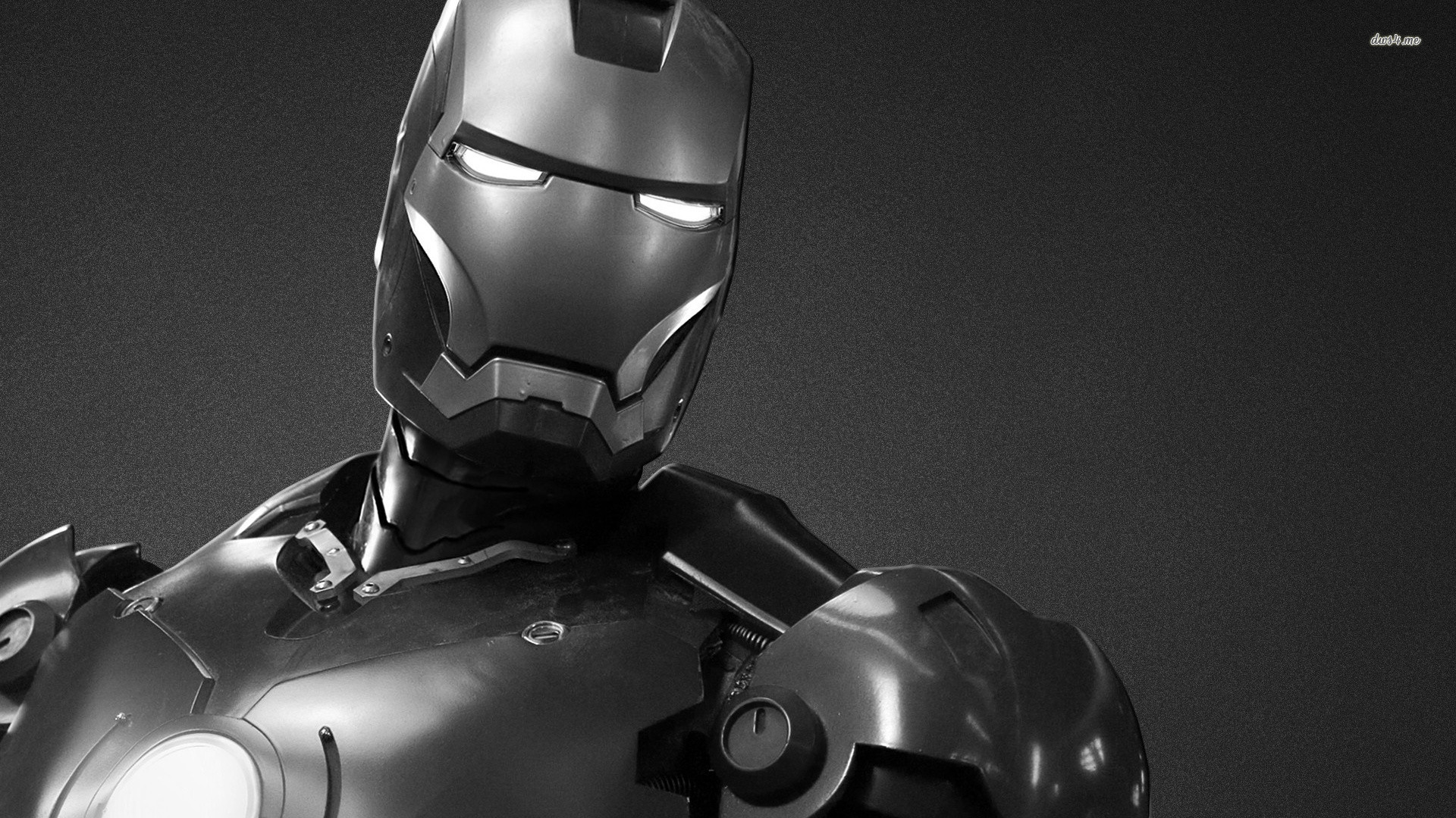 Iron Man Black And White Wallpaper Sf Wallpaper