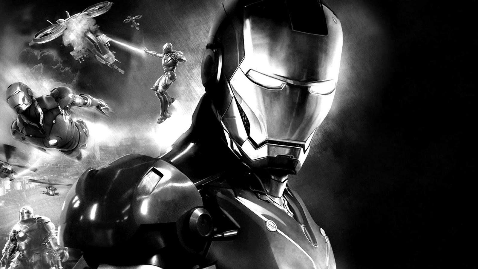 Wallpaper iron man d D Iron Man Wallpapers Group  odrugestvo.ru
