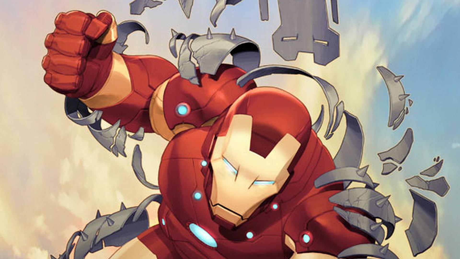 Iron Man Comic Wallpaper Full HD - Wickedsa com