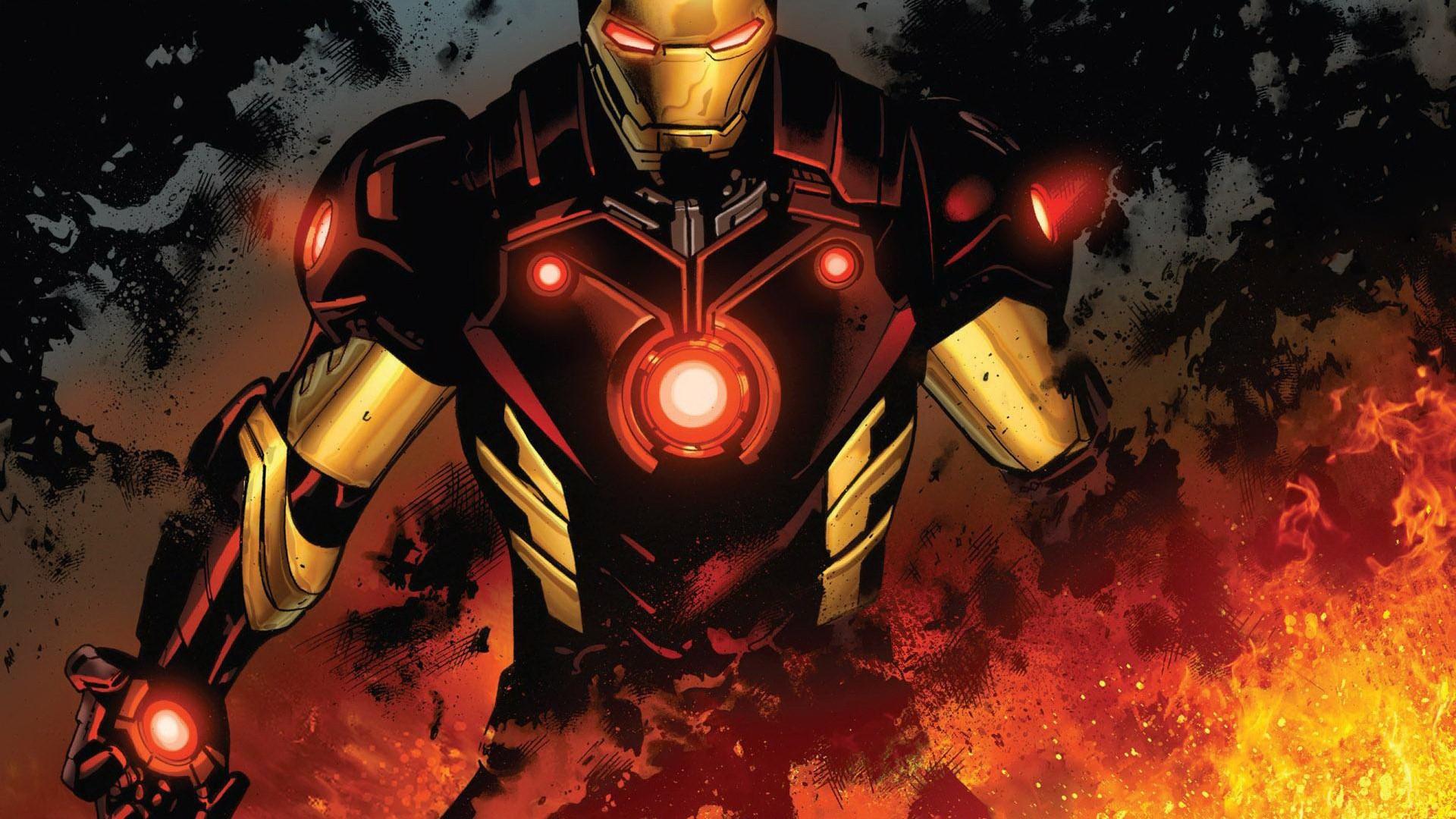 Iron Man Comic Wallpapers Widescreen - Wickedsa com