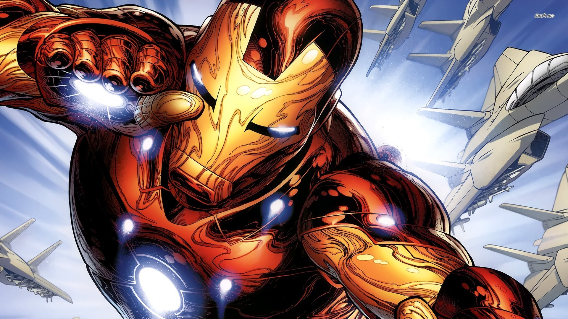 Iron Man Comic Wallpaper Desktop Background - Wickedsa com