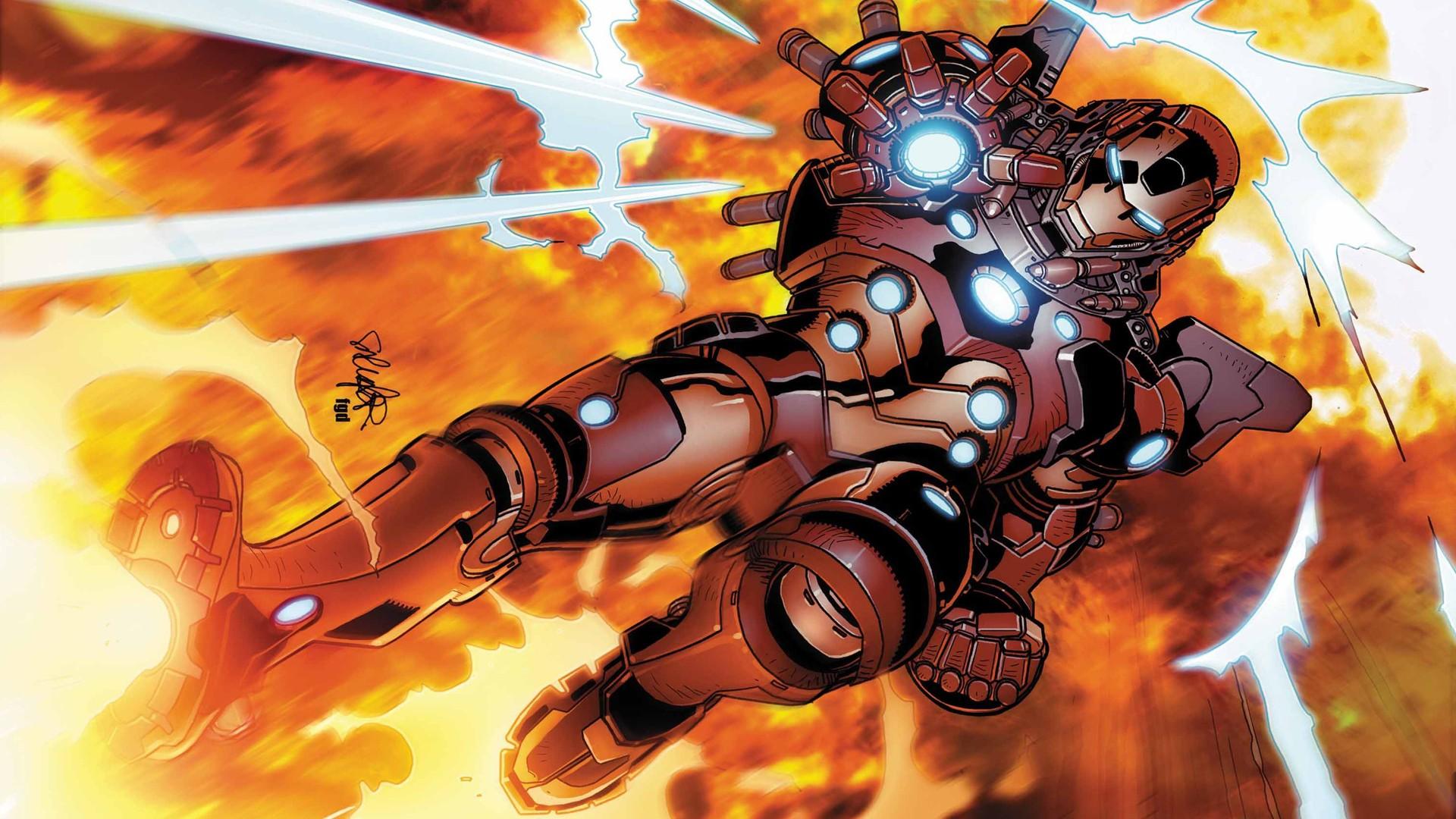 Iron Man Comic Wallpapers High Quality - Wickedsa com