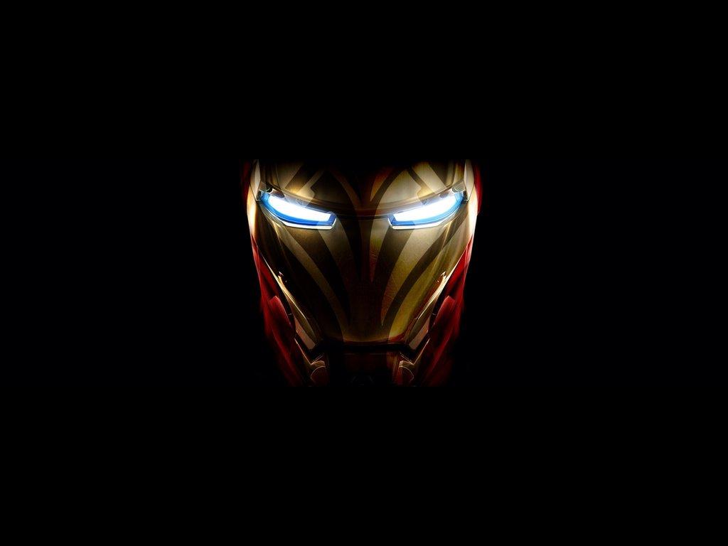 Iron man face wallpaper - SF Wallpaper