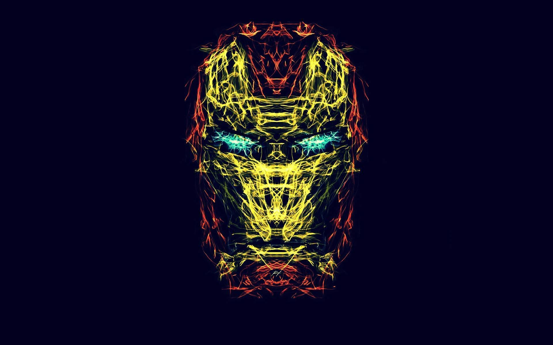 Iron Man Face Wallpaper Sf Wallpaper