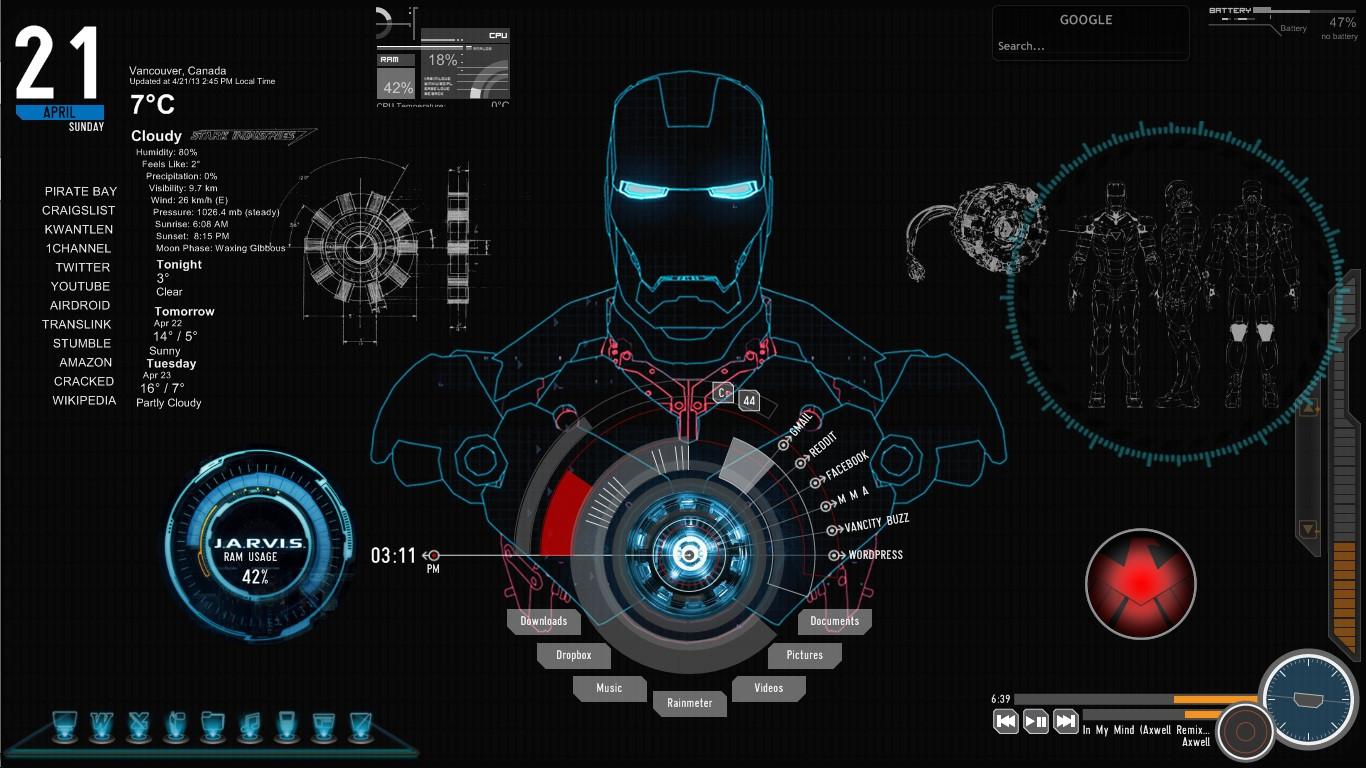 Amazing Wallpaper Macbook Iron Man - iron-man-theme-wallpaper-16  Pic_803376.jpg