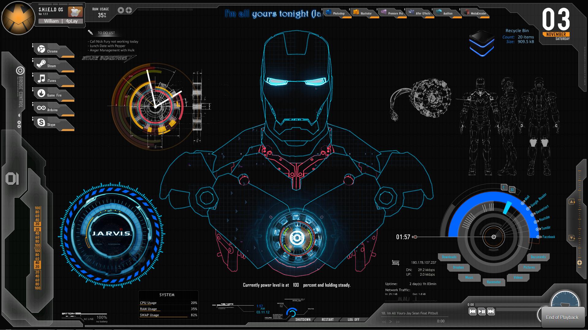 3d Desktop Interface Wallpapers High Resolution with High