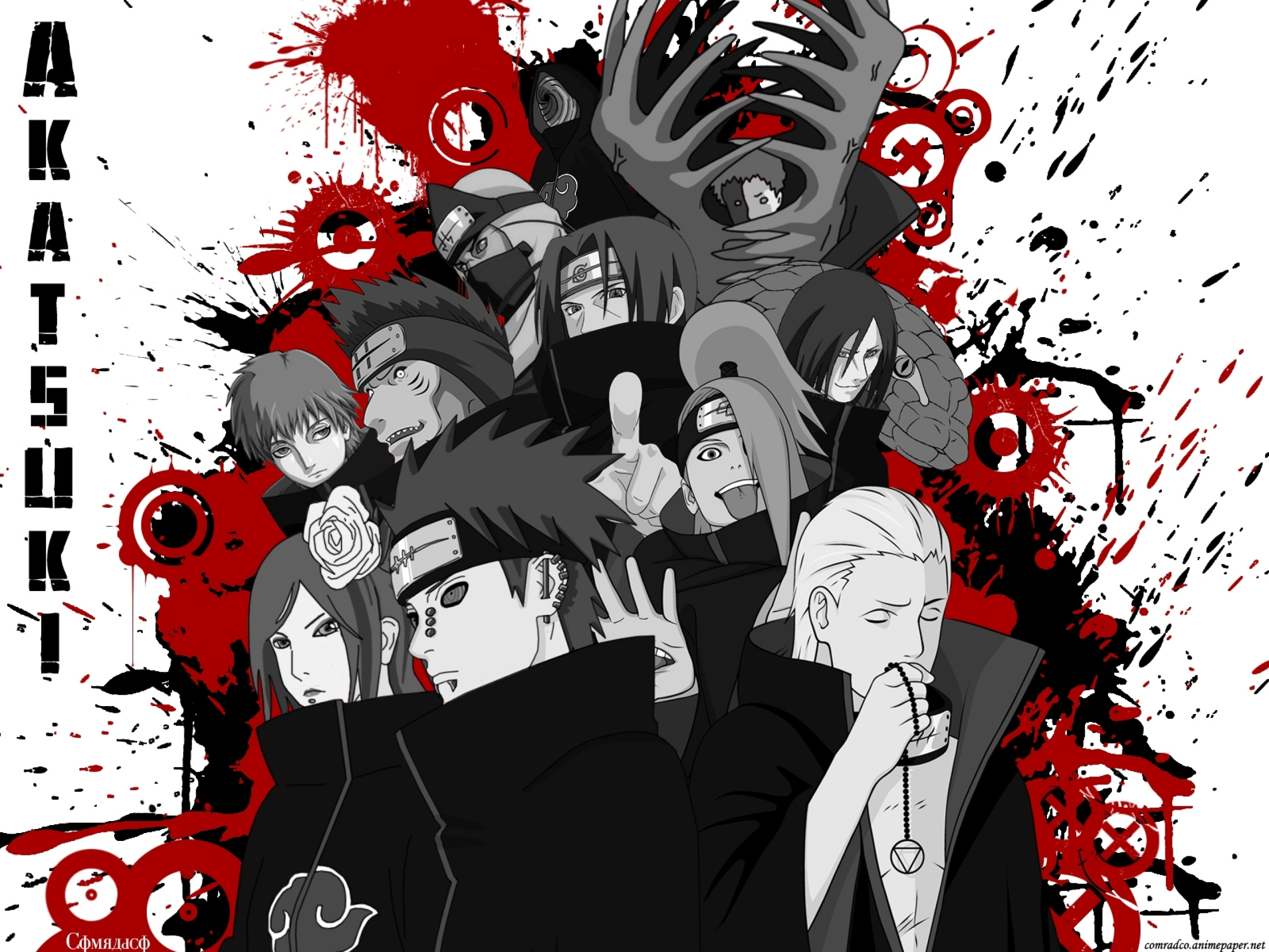 Download Naruto Shippuden Akatsuki Uchiha Itachi Kisame Hoshigaki